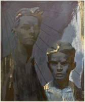 oil on canvas, 120X100 cm