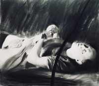charcoal on paper, 2017